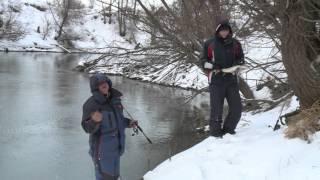 Ловля щуки со льда на воблер