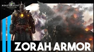 How To Get Zorah Magdaros GEMS and Armor FAST - Monster Hunter World
