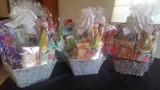 Female Gift Basket🎁 | 🎄 Gifting Ideas 2018