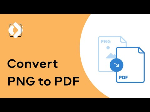 How to convert PNG to PDF | PDF editing (Tutorial 2020)