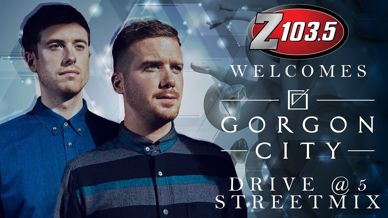 Gorgon City - Live @ Drive at 5 Streetmix on Z103.5 2015