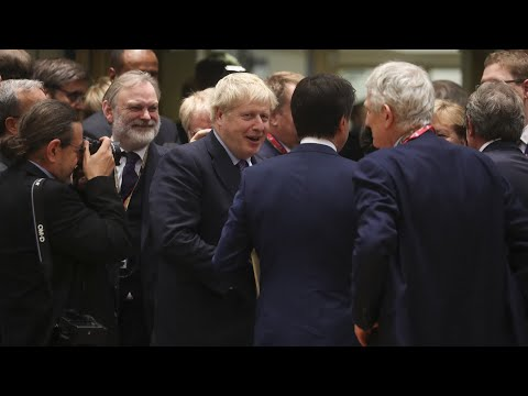 Boris Johnson Takes an EU Victory Lap After Brexit Deal