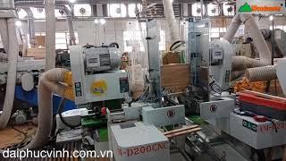 Woodmaster WM-D200cnc. MÁY ĐÁNH MỘNG 2 ĐẦU CNC CAO TỐC - MÁY PHAY MỘNG 2 ĐẦU CNC giá tốt nhất