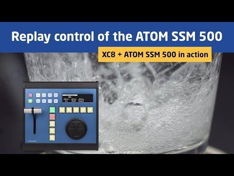 XC8   Replay control of the ATOM SSM 500