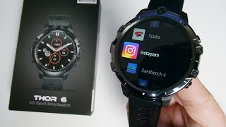 Zeblaze Thor 6 - Full Android 10 Smartwatch - First Octa-core Smartwatch!