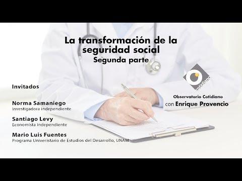 La transformación de la seguridad social.Segunda parte. Observatorio Cotidiano con Enrique Provencio