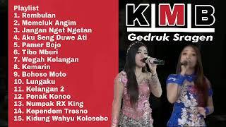 Full KMB Music Gedruk Sragen Terbaru 2019 - Levy Berlia Putri Kristya Rembulan Memeluk Angin Album