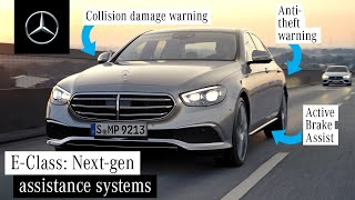 [오피셜] Safety & Assistance Systems in the New E-Class
