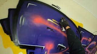 Graffiti - Resk12 - Purple Burner
