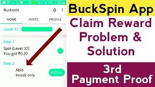 Buckspin problem 100% Solved//Buckspin unlimited tricks//Problem