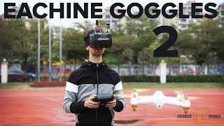 Eachine Goggles Two Diversity Full HD FPV Goggles Review
