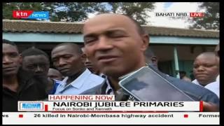 Reasons why Aspirant Peter Kenneth took his sweet time in the polling station after voting