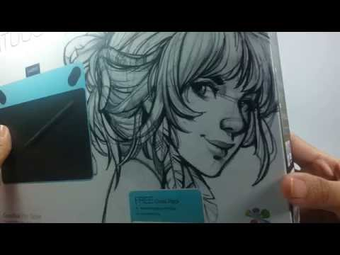 Unboxing: Wacom Intuos Draw Creative Pen Tablet (CTL490DW)