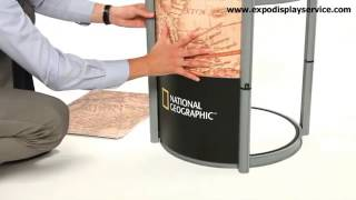 Portable Display Counter For Events, Shows And Exhibition Design In Dubai