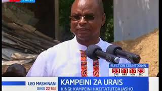 Amason Kingi amhakikishia ushindi Raila Odinga