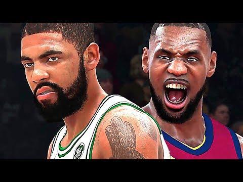 Gameplay de NBA 2K18