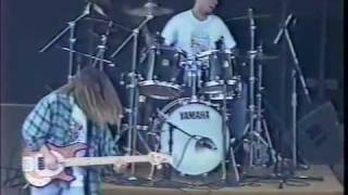 "The 77s perform ""Woody"" at Ichthus, 1997"