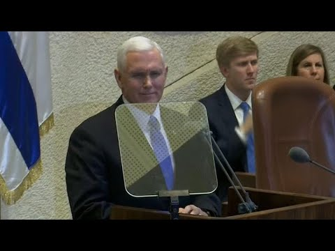 Mike Pence moves up timing for Jerusalem embassy move