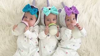 TRIPLETS 8 MONTH CHECK UP!