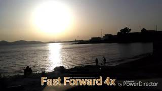 Timelapse VS Fast Forward - Sunset
