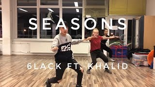 6lack   Seasons (feat. Khalid) | Choreography By Nik Nguyen