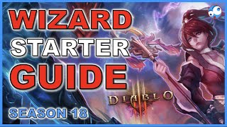 Wizard Starter Guide Season 18 Diablo 3