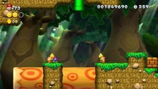 New Super Mario Bros U Soda Jungle S Painted Swampland Aka
