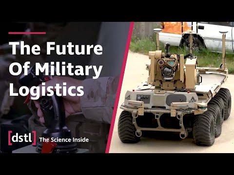 Autonome Fahrzeuge in Militärübung