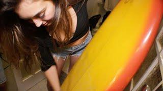 VIDEO PREMIERE: 'Surfboard' (SLIPPERY SURFA)