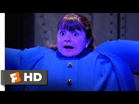 Willy Wonka & the Chocolate Factory - Violet Blows Up Like a Blueberry Scene (7/10) | Movieclips