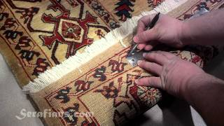 Serafian's Oriental Rugs in Albuquerque, NM   How to Judge Quality in Hand Knotted Oriental Rugs
