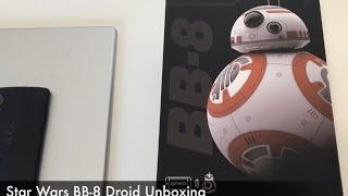 Star Wars BB-8 Droid Unboxing