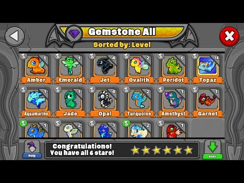 How to breed all the Gemstone and Crystalline dragons in Dragonvale!