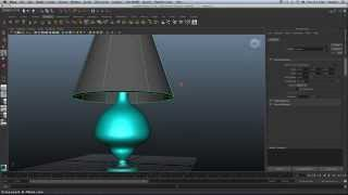 Creating a Lamp in Maya