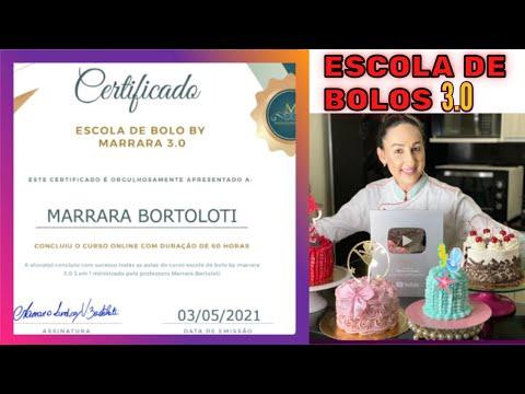 Escola de Bolo By Marrara 3.0 - Curso Marrara Bortoloti Escola de Bolo 3.0   Marrara Bolos 2021