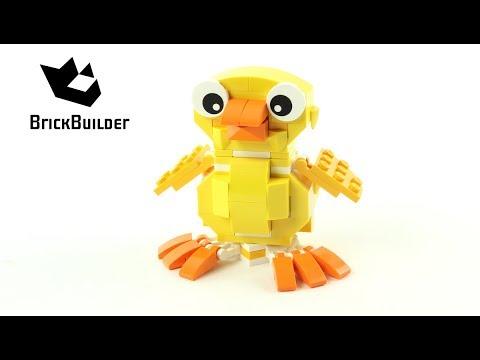 Vidéo LEGO Saisonnier 40202 : Le poussin de Pâques