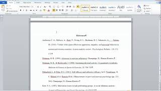 APA Style 6th Ed.: Reference List