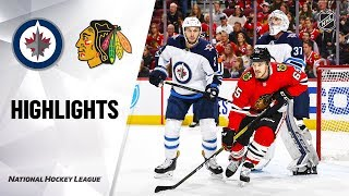 Jets @ Blackhawks 10/12/19 Highlights