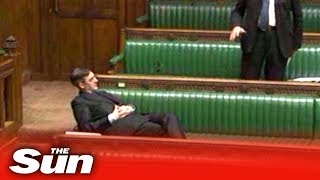 Jacob Rees-Mogg has MPs in stitches at his first House business questions