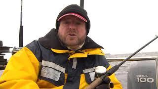 Ловля лосося на онежском озере.