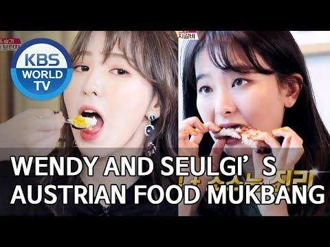 Wendy and Seulgi's Austrian food Mukbang [Editor's Picks / Battle Trip]