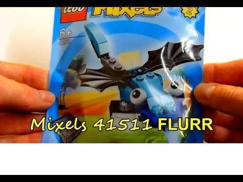 Vidéo LEGO Mixels 41511 : Flurr