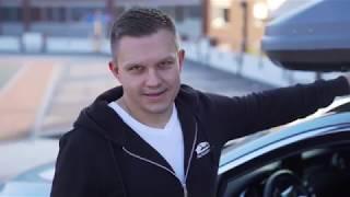 Mercedes Benz C Klasse AMG I Thule Dachbox I Dachboxking,de