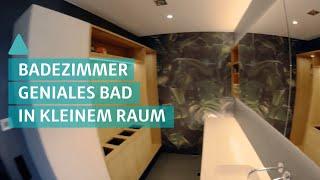 Geniales Badezimmer auf kleinem Raum - Wellnessoase Bad   BAUEN & WOHNEN