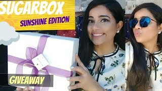 SUGARBOX SUNSHINE EDITION - UNBOXING & GIVEAWAY | Sana K