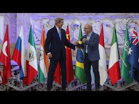 Καμία απόφαση στην υπουργική σύνοδο των G20 για το κλίμα
