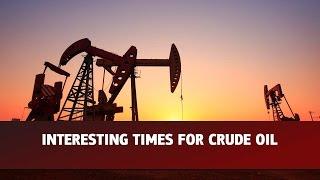 Movimentos do petróleo cru