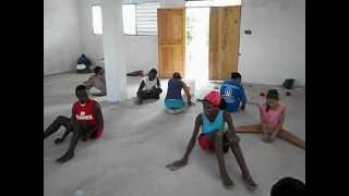 preview picture of video 'Teen Trip to Haiti 2012: Pass the Sandpaper'