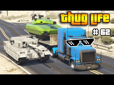 GTA 5 ONLINE : THUG LIFE AND FUNNY MOMENTS (WINS, STUNTS AND FAILS #62)