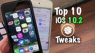 Top 10 Free Cydia Tweaks after iOS 10 Jailbreak